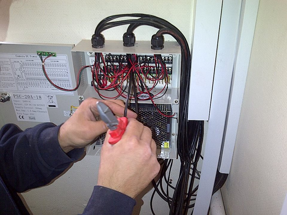 Electrical Service - Fusebox